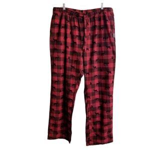 Eddie Bauer Buffalo Plaid Sleepwear Pajama NEW
